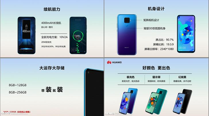 Huawei Mate 30 Lite официально рассекречен