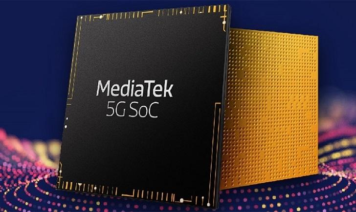 5G смартфон на MediaTek появятся совсем скоро