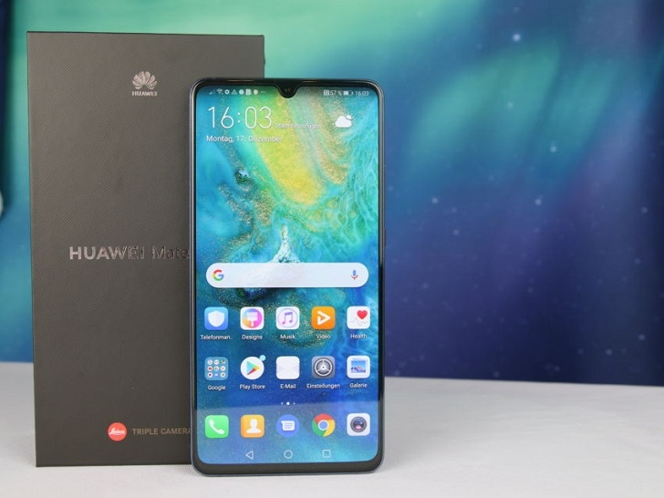 Huawei Mate 20 X 5G представлен официально