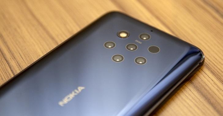 HMD Global готовит смартфон Nokia 9.1 PureView 5G