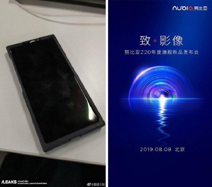 Nubia Z20 – смартфон с двумя экранами и тремя камерами