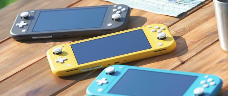 Анонс Nintendo Switch Lite – легкая консоль с упором на портативность