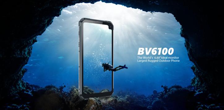 Blackview BV6100 – защищенка с огромным экраном и NFC