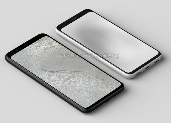 Google Pixel 4: рендеры и 3D-модель подтверждают дизайн