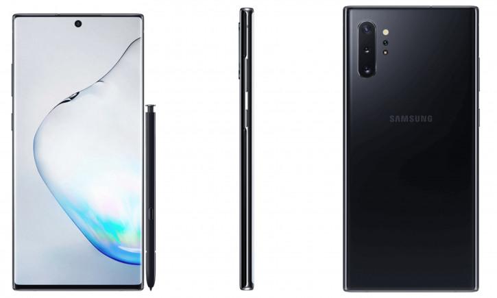 Качественные рендеры Samsung Galaxy Note 10+ с Quad-камерой
