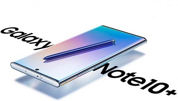 Новые пресс-рендеры Samsung Galaxy Note 10+ и Watch Active 2