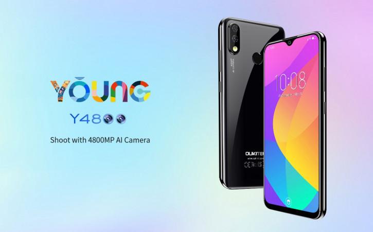 Oukitel Y4800: конкурент Redmi Note 7 поступает в продажу (цена)