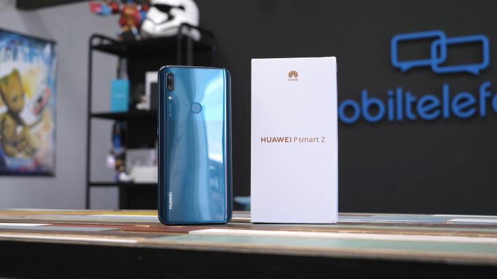 Распаковка и обзор Huawei P Smart Z: середняк с выдвижной камерой
