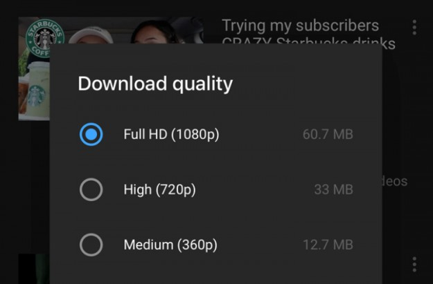 Пользователи YouTube Premium теперь могут скачивать видео в формате 1080p
