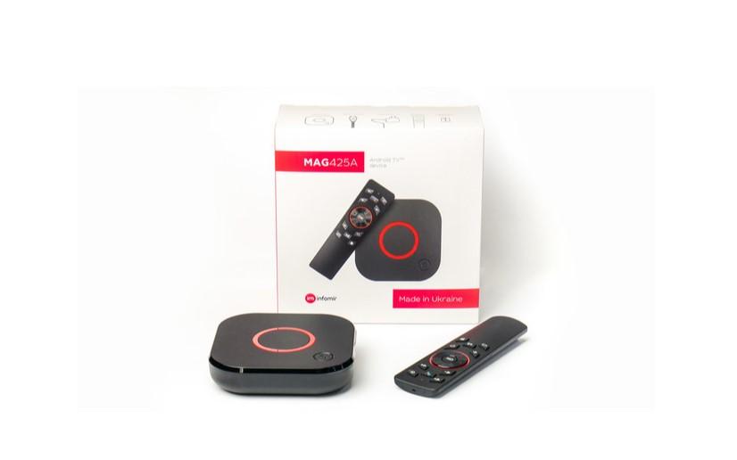 Обзор MAG425A: сертифицированная 4K Android TV приставка