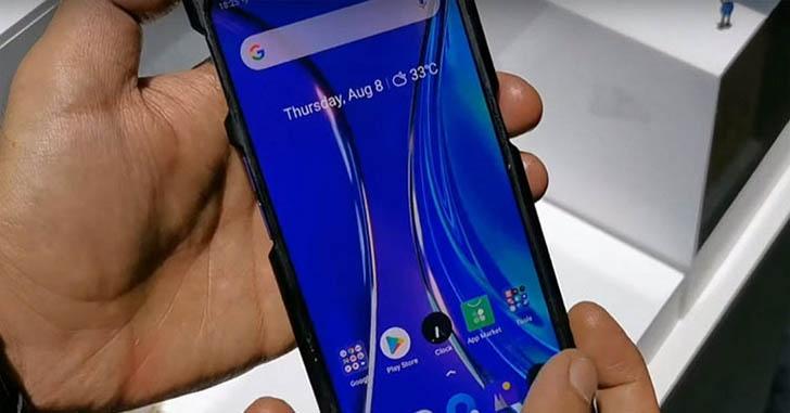 Фотовозможности нового смартфона Realme показали на видео
