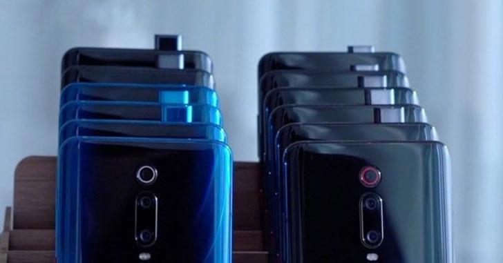Xiaomi патентует новый смартфон с выдвижной селфи-камерой