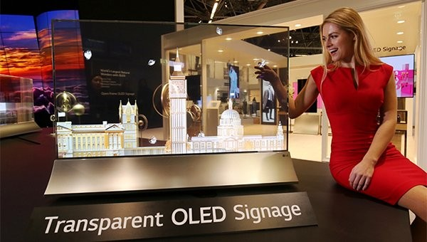 В следующем квартале LG Display удвоит выпуск прозрачных дисплеев OLED