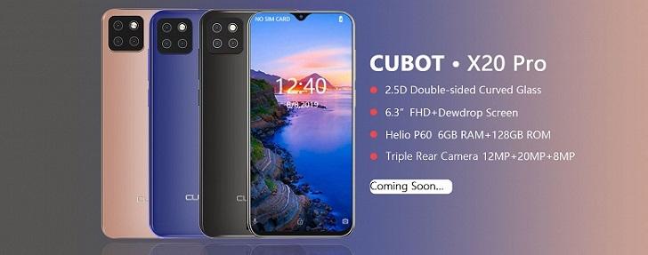 Cubot X20 Pro – смартфон с основной камерой в стиле iPhone XI