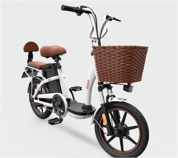 Xiaomi анонсировала мопед-велосипед Himo C16