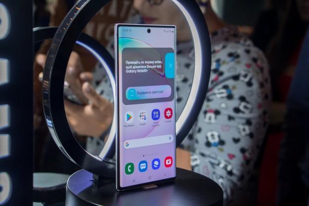 Samsung представила в Украине свои самые мощные смартфоны - Galaxy Note10 и Note10+