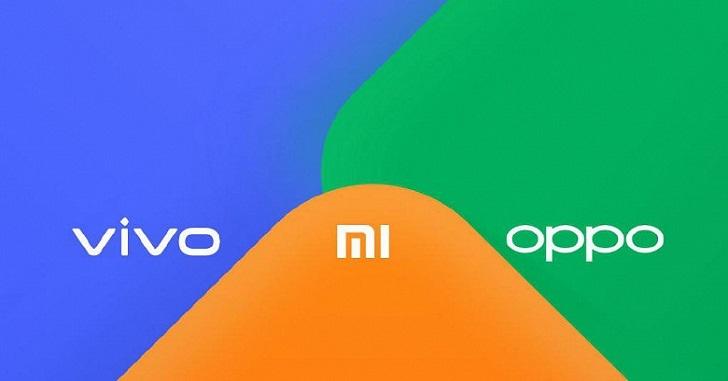 Xiaomi, OPPO и Vivo создали в альянс