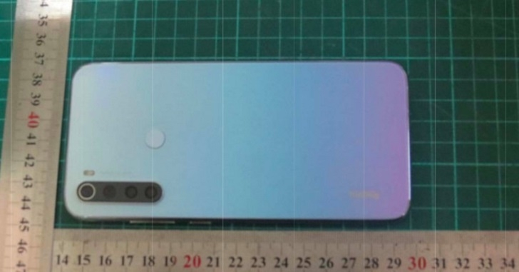 Xiaomi Redmi Note 8 показался на «живой» фотографии