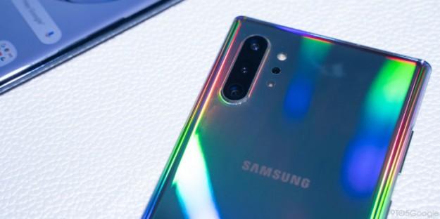 Распаковка и тесты на прочность Samsung Galaxy Note 10+ 5G