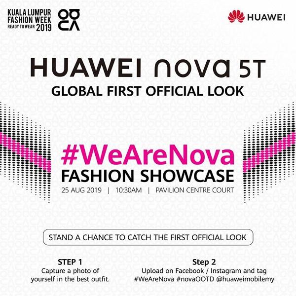 Известна дата выхода Huawei Nova 5T, самого компактного флагмана 2019 года