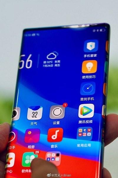 Huawei Mate 30 и Mate 30 Pro станут первыми смартфонами с «экраном-водопадом»