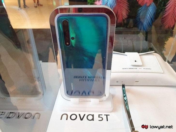 Huawei Nova 5T показан на реальных фотографиях