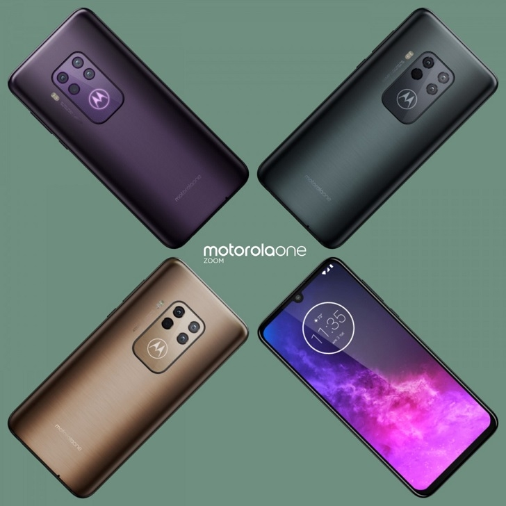 Motorola One Zoom: цена и характеристики