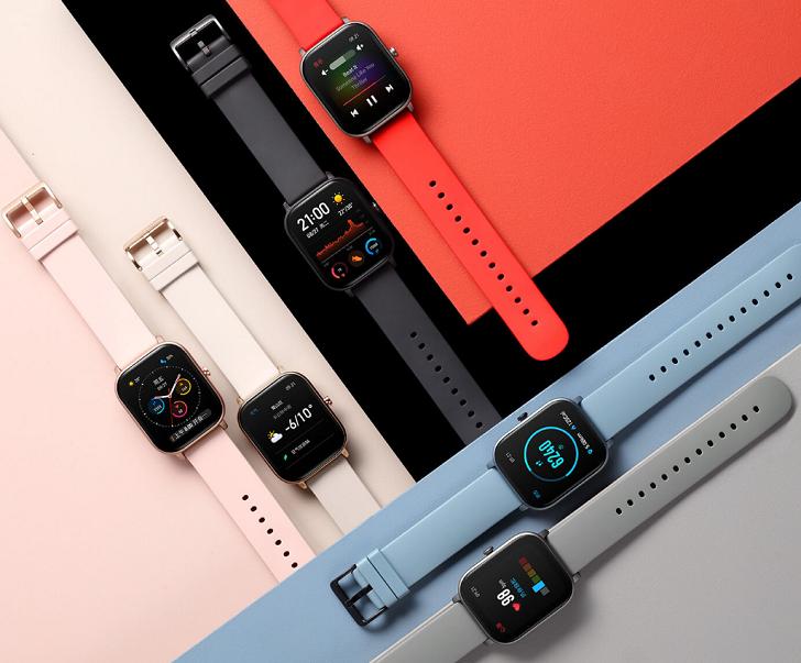 Смарт-часы Amazfit GTS стали копией Apple Watch за 125 долларов