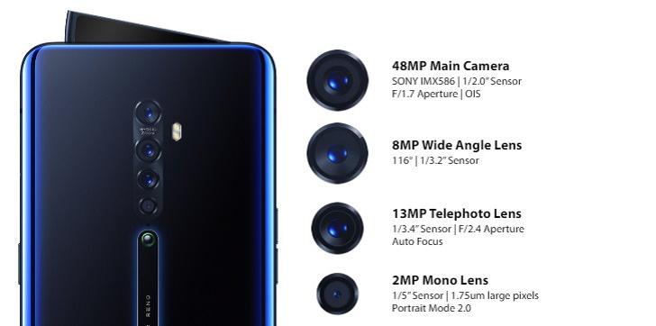 OPPO Reno2 – первый в мире смартфон на процессоре Snapdragon 730G