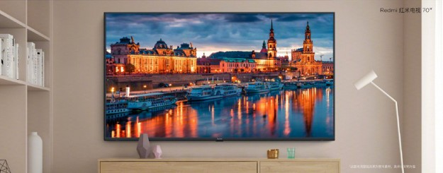 Представлен 70-дюймовый телевизор Redmi TV