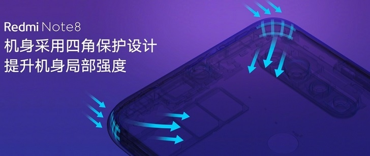 Компоненты Xiaomi Redmi Note 8 могут проработать 3.4 года до 16 лет