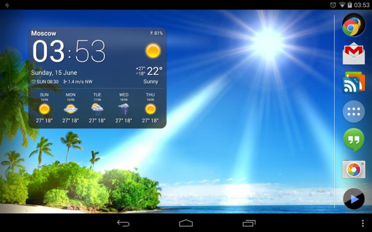 Портал «METEOlabs» предлагает на выбор один из погодных информеров для вашего сайта