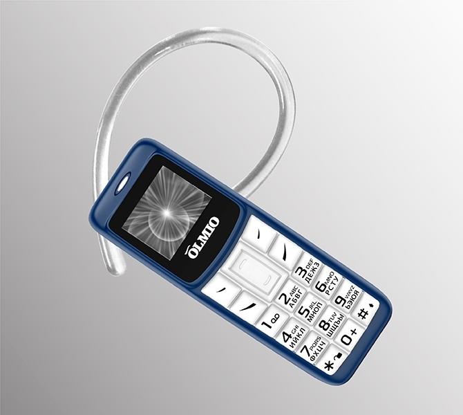 Анонс Olmio A02: мобильный телефон и Bluetooth-гарнитура в одном лице