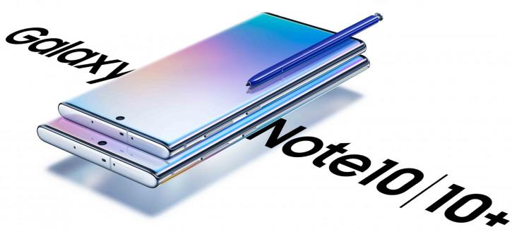 Больше рендеров и новое живое фото Samsung Galaxy Note 10 и Note 10+