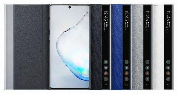 Фирменные чехлы и аксессуары для Samsung Galaxy Note 10 на фото