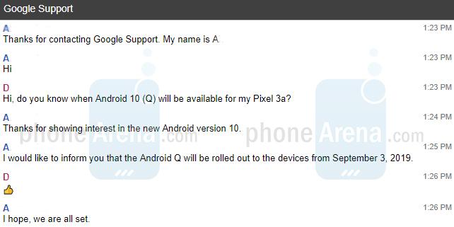 Календарь переверну: 3 сентября Google Pixel получат Android 10