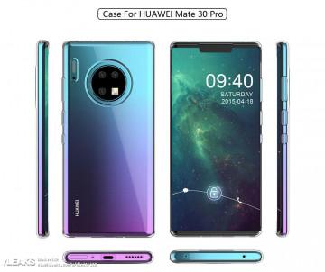 Крайне необычный дизайн Huawei Mate 30 Pro от производителя чехлов