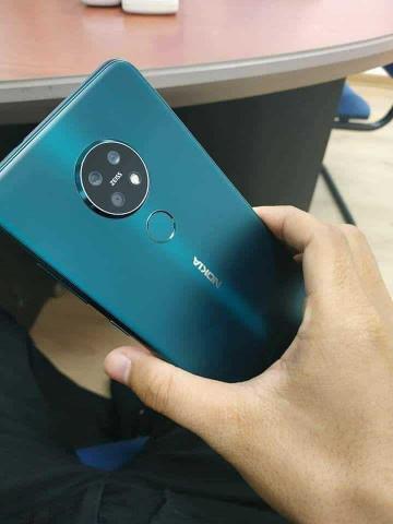 Nokia 7.2 с тройной камерой вновь показался на фото