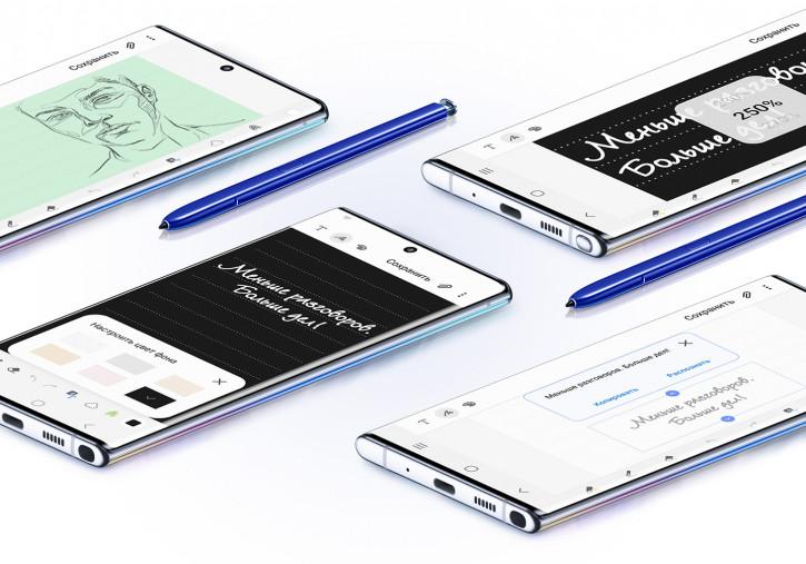Все отличия Galaxy Note 10, Note 10+, S10+ и других флагманов Samsung