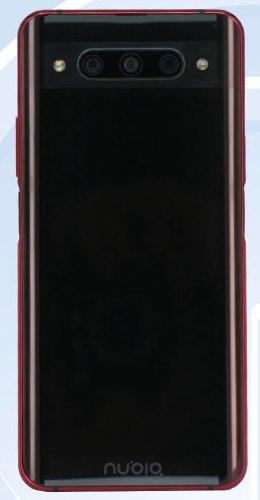 Nubia Z20 на фото из TENAA: два экрана, два сканера, две вспышки