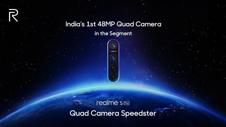 Realme подтвердила 48-Мп камеру в Realme 5 Pro: но где же Samsung GW1?