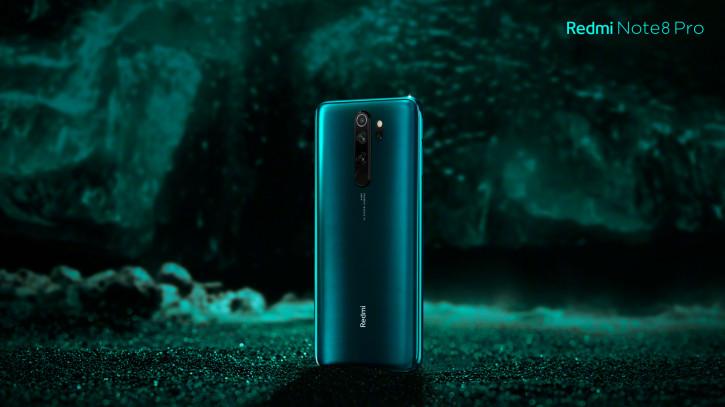 Новый рендер Redmi Note 8 Pro в цвете Ice Jade