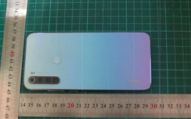 Redmi Note 8 с Quad-камерой на живых фото из FCC