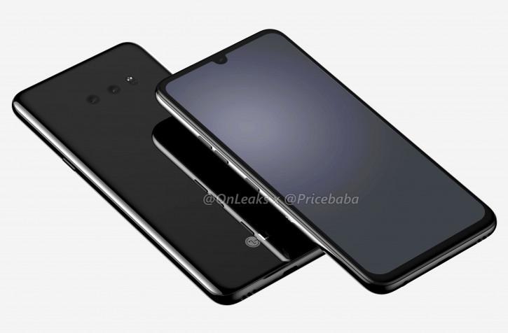 Рендеры LG G8X ThinQ: сканер в экране и нет «когтя тигра»?
