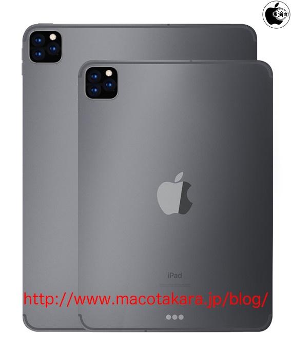 Следующие iPad и iPad Pro получат двойные и тройные камеры
