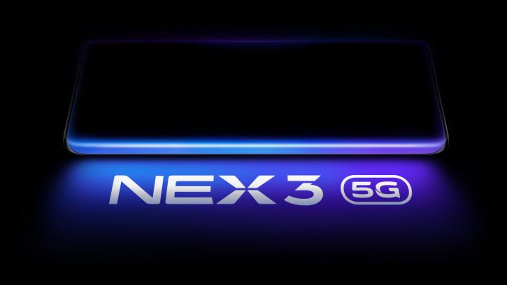 Vivo NEX 3 с экраном Full Screen 2.0 будет представлен в сентябре
