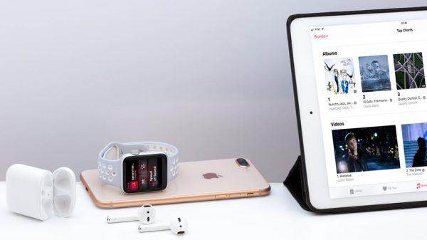 Презентация продукции Apple 2019