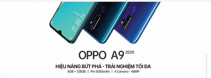 OPPO A9 2020 станет конкурентом для Xiaomi Mi A3