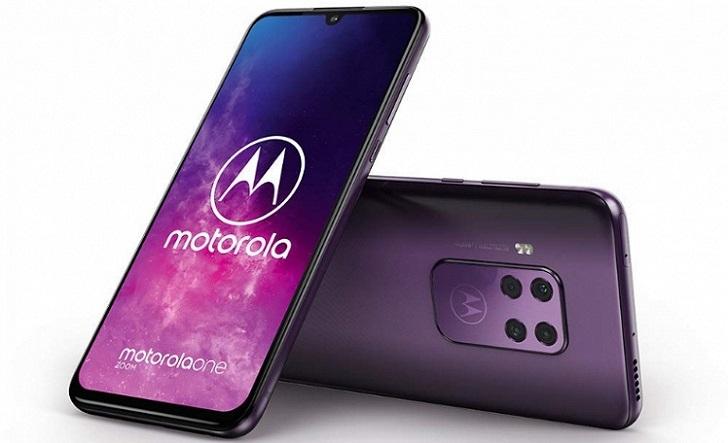 450-долларовый смартфон Motorola One Zoom протестирован в Geekbench