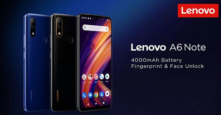 Lenovo A6 Note представлен официально